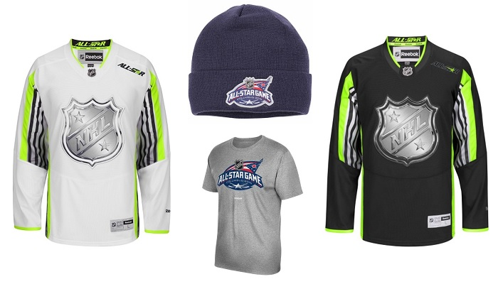 nhl all star apparel