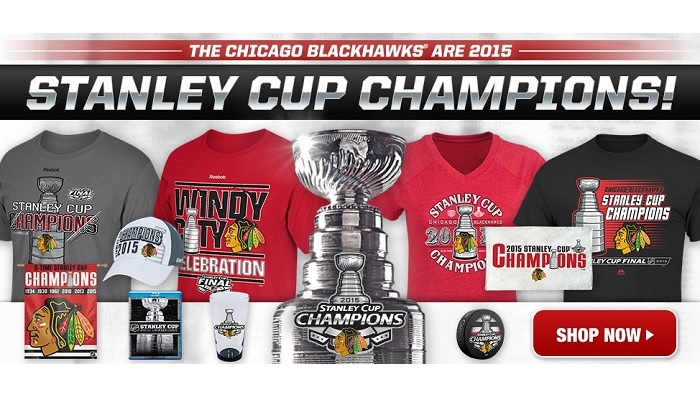 Blackhawks Stanley Cup Champs Gear