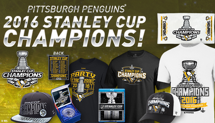 c6e50b8243ba4 The Pittsburgh Penguins are your 2016 Stanley Cup Champions!